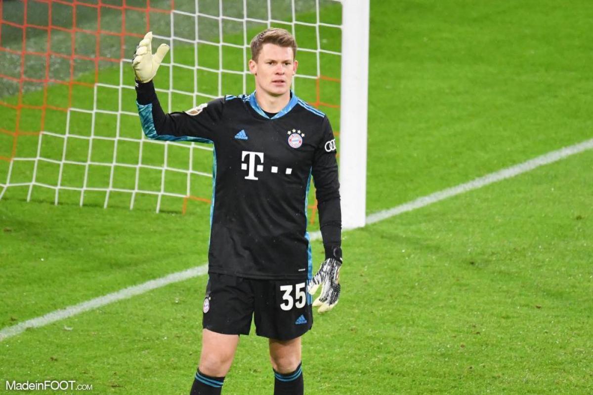 Alexander Nübel est lié au Bayern Munich jusqu'au 30 juin 2025.
