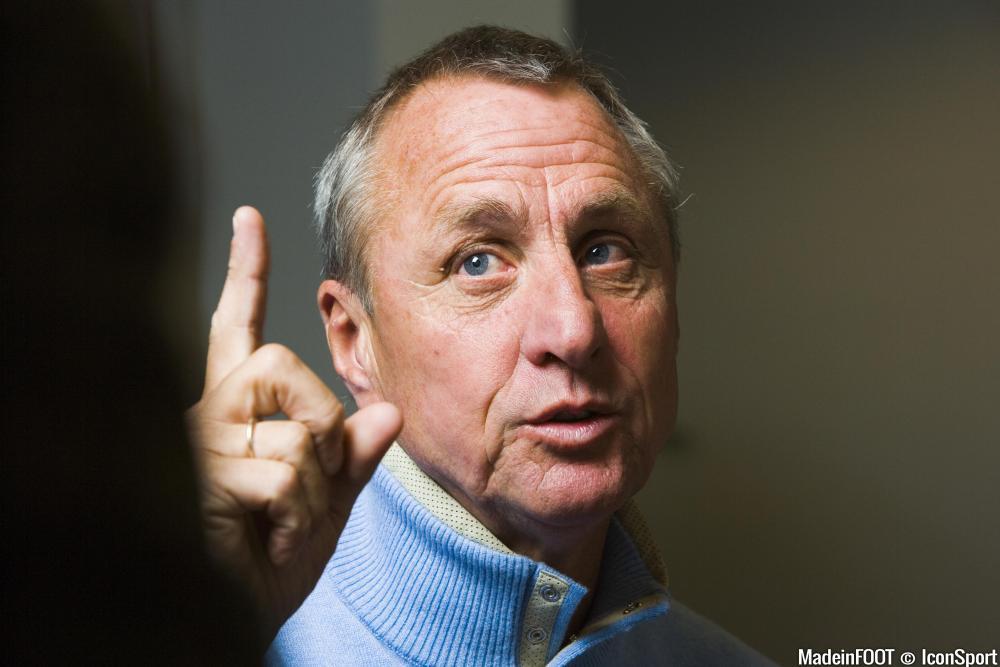 Cruyff, disparu le 24 mars dernier, aurait pu coacher l'OM