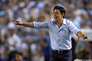 Marcelo Gallardo, entraineur de River Plate