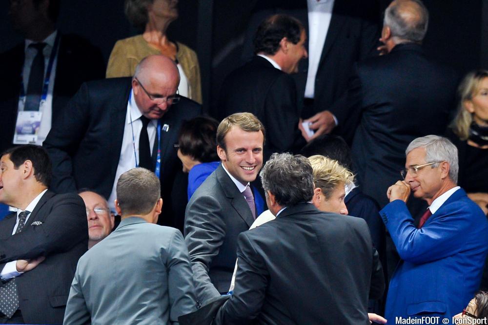 Emmanuel Macron a écouté Jacques-Henri Eyraud