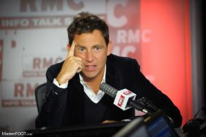 Daniel Riolo, chroniqueur de l'After Foot sur RMC Sport
