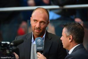Christophe Dugarry, le consultant de RMC Sport.