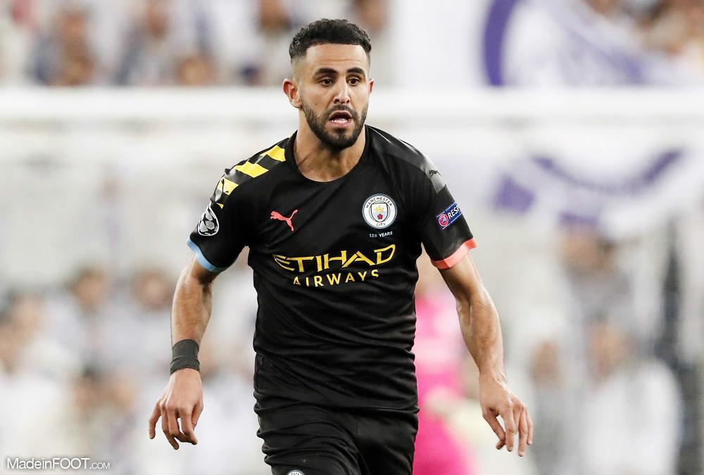 Riyad Mahrez, l'attaquant de Manchester City et de l'Algérie.