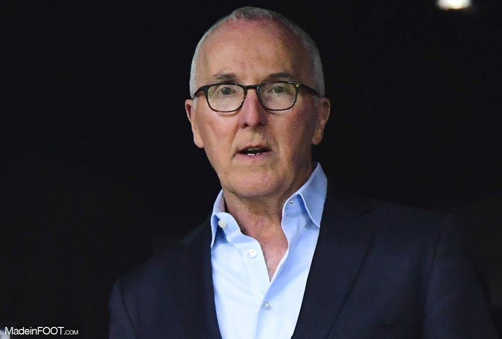 Frank McCourt, le propriétaire de l'OM.