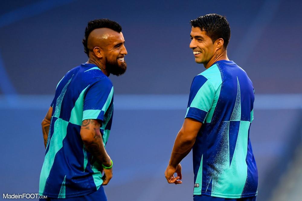 Vidal avec Suarez