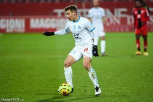 Valentin Rongier, le milieu de terrain de l'Olympique de Marseille.
