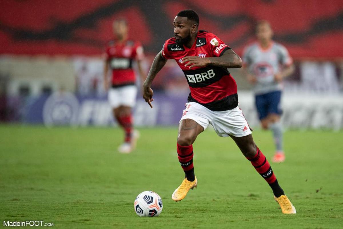 Gerson, milieu de terrain du Flamengo