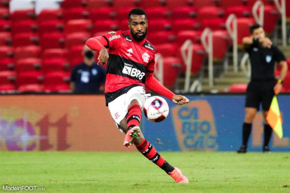 Gerson, le milieu de terrain de Flamengo.