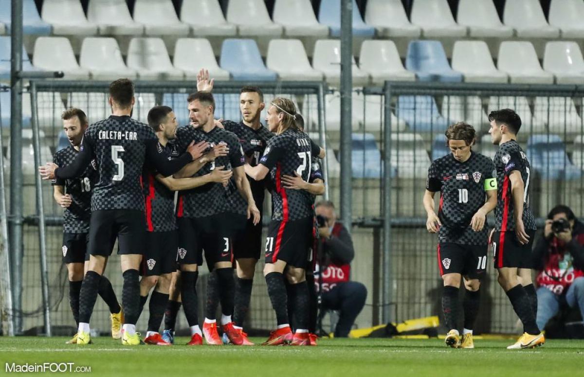 Après sa défaite face à l'Angleterre lors de son premier match (1-0), la Croatie n'a plus le droit à l'erreur