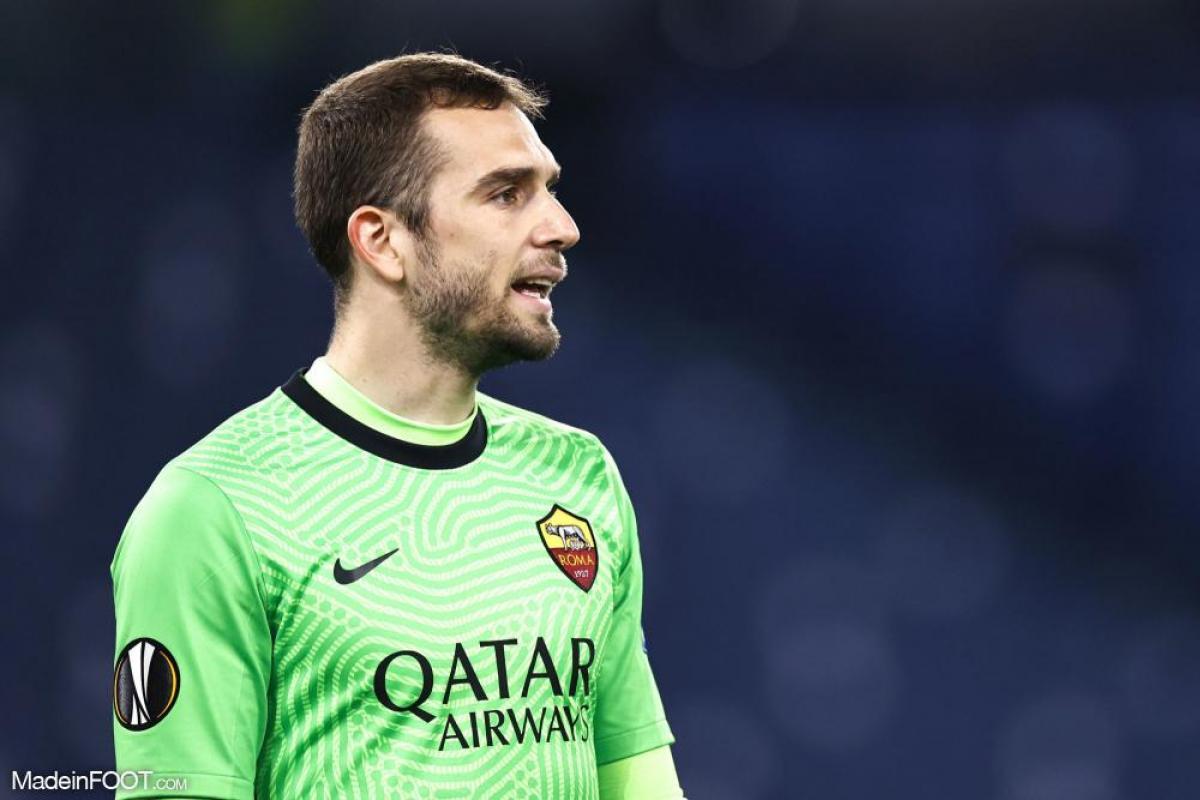 Pau Lopez sous les couleurs de l'AS Roma