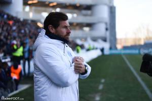 La déception de Villas-Boas après le match face à Angers