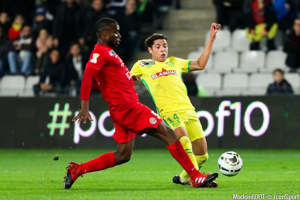 Amine Harit avec le FC Nantes