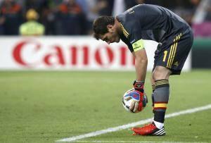 Iker Casillas, le portier espagnol