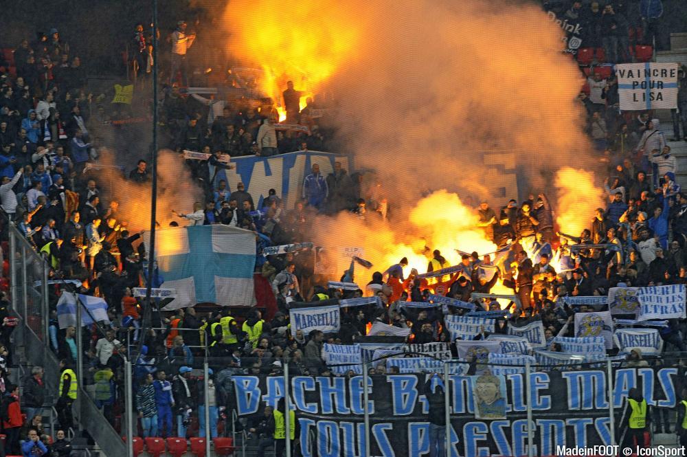 Aucun supporter Marseillais au stade Armand-Cesari
