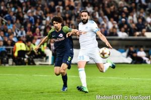 Salzburg doit rattraper deux buts à l'OM.