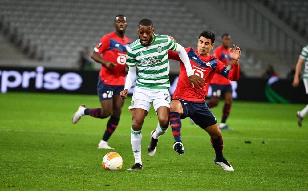 Olivier Ntcham, ici sous les couleurs du Celtic Glasgow.