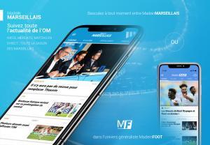 Mobile - Suivez l'OM sur votre smartphone !