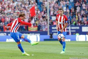Antoine Griezmann, l'attaquant de l'Atlético Madrid.