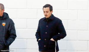 Pablo Longoria, le directeur sportif de l'Olympique de Marseille