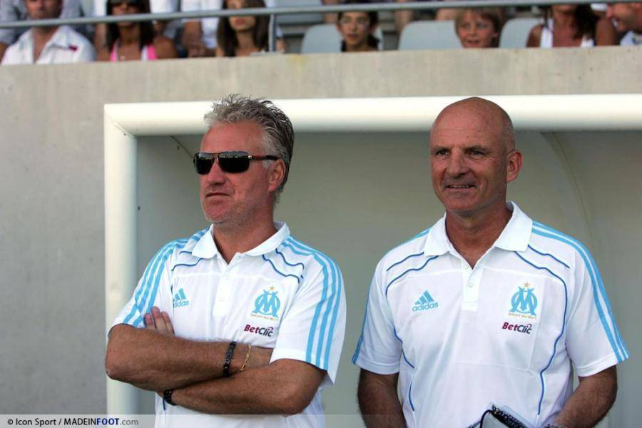 Didier Deschamps et Guy Stephan