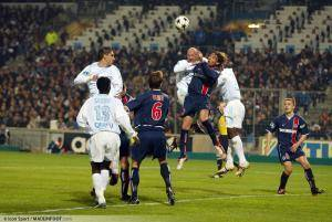 Frank Leboeuf, ici sous les couleurs de l'Olympique de Marseille.