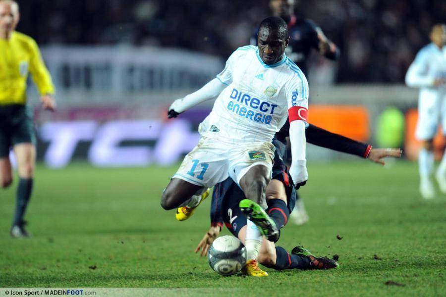 Mamadou Niang, ici sous les couleurs de l'OM.