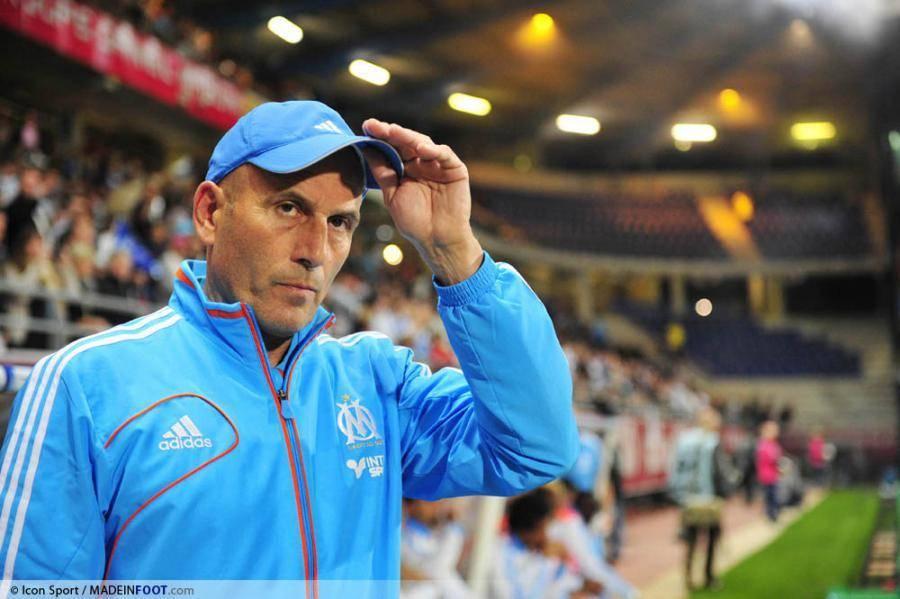 Elie Baup, l'ancien entraîneur de l'Olympique de Marseille.
