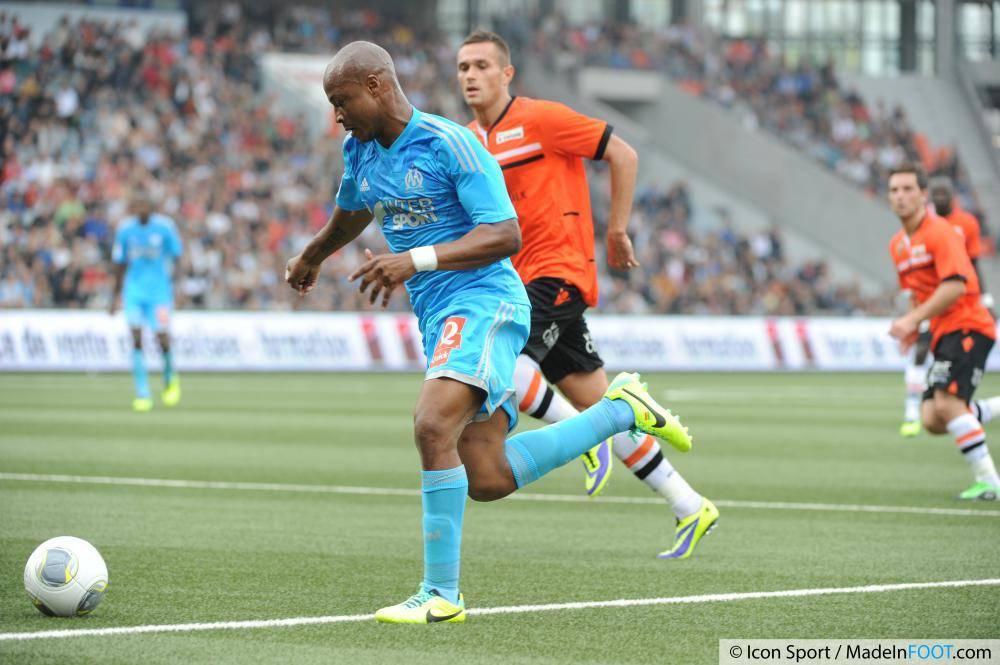 Ayew est heureux à Marseille