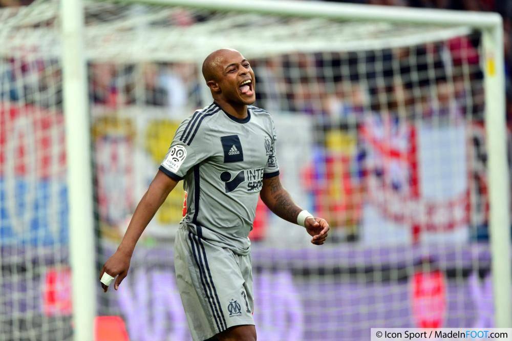 André Ayew manquera le déplacement à Lorient