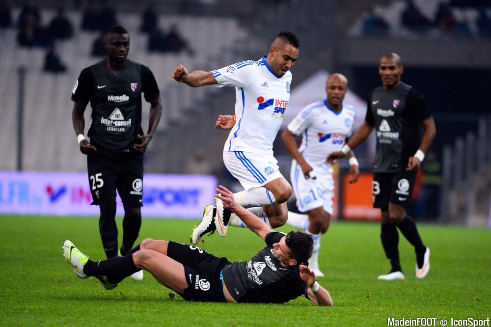 Les compos officielles de la rencontre entre le FC Metz et l'OM.