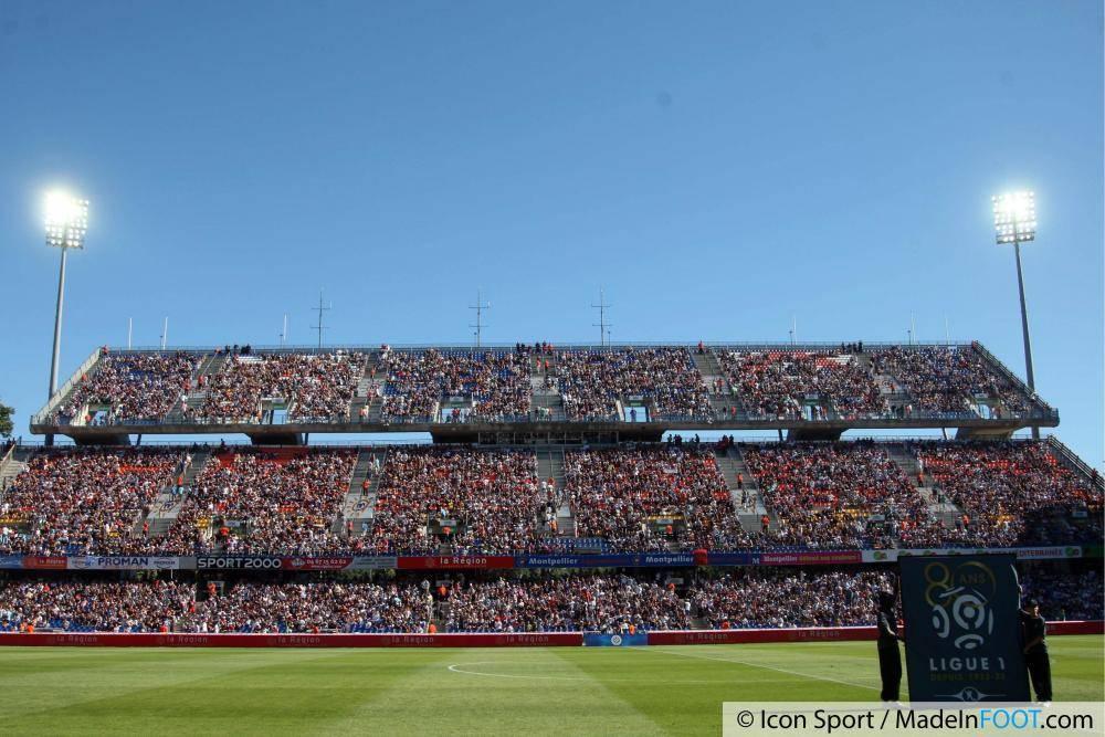 Le stade de la Mosson héberge le MHSC depuis 1974.