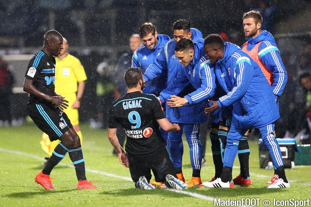 Grâce à un doublé, Gignac a offert la victoire à l'OM sur la pelouse de Metz (0-2)