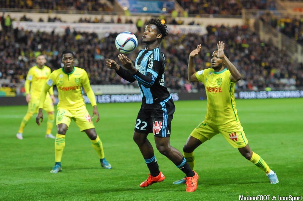 Michy Batshuayi et l'OM sont allés chercher un précieux succès, dimanche, à Nantes (0-1)