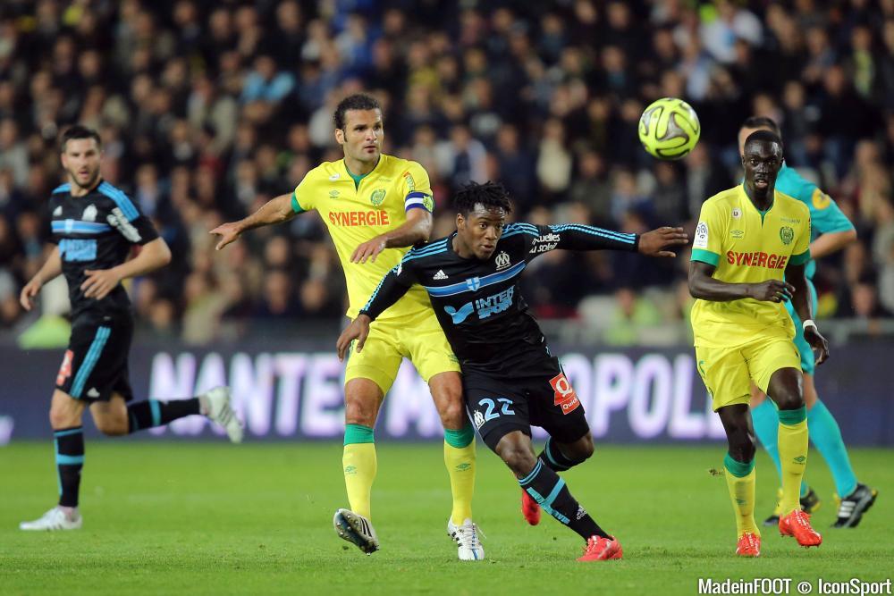 Nantes et Marseille concluent la 12ème journée de Ligue 1, dimanche soir (21h), à la Beaujoire