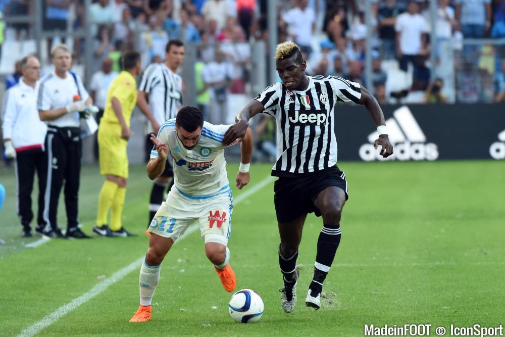 Alessandrini et Pogba, deux joueurs ovationnés à leurs sorties au Vélodrome.