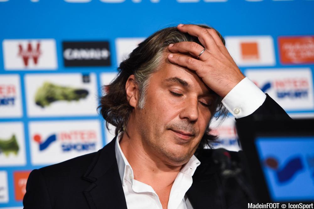 Vincent Labrune et l'OM n'ont pas réussi à s'offrir de nouvel attaquant...