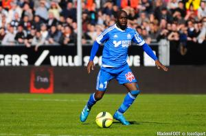 Lassana Diarra a repris l'entraînement avec l'OM.