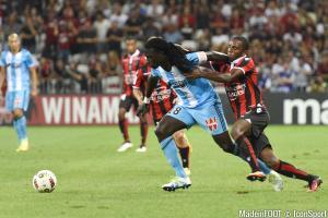 Les compos officielles du match entre l'OM et l'OGC Nice.