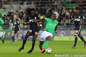 L'album photo du match entre l'ASSE et l'OM.
