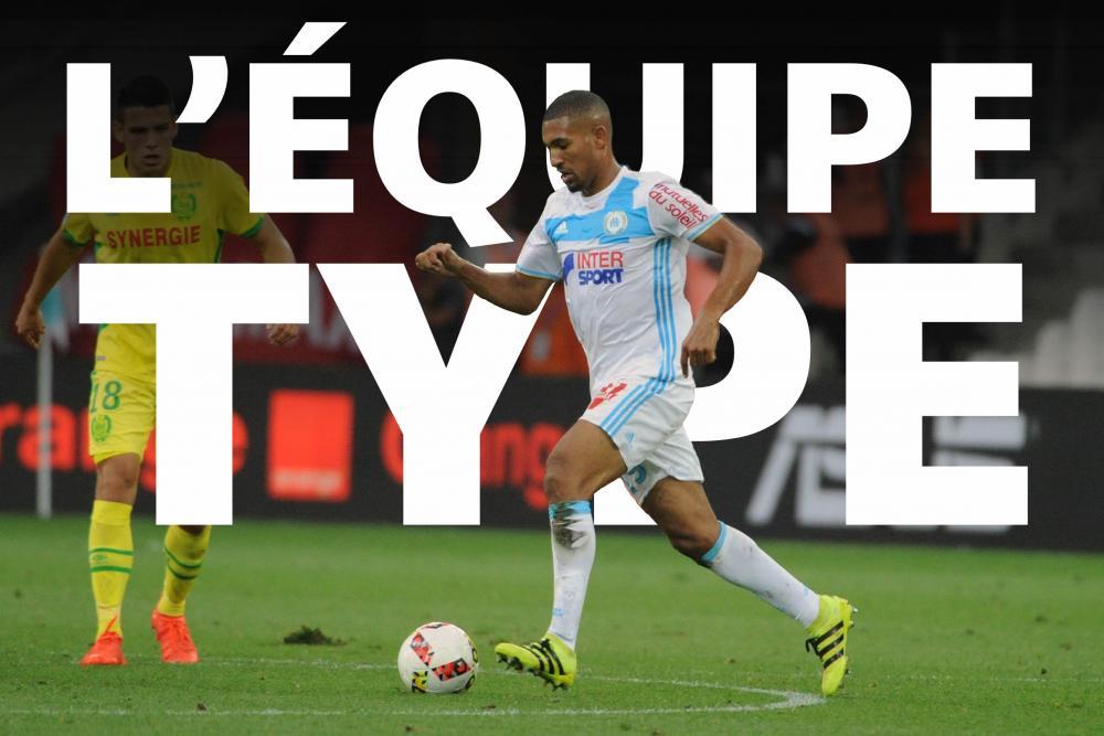 William Vainqueur (OM) est dans l'équipe-type de la 15ème journée de Ligue 1.