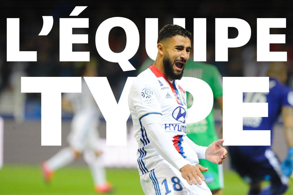 L'équipe-type de la 8e journée de Ligue 1.
