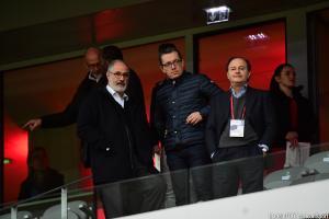 Jacques-Henri Eyraud et Andoni Zubizarreta (OM) sont à Barcelone.
