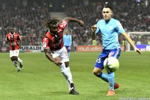 Allan Saint-Maximin et l'OGC Nice se sont inclinés face à l'OM (2-4), dimanche soir.