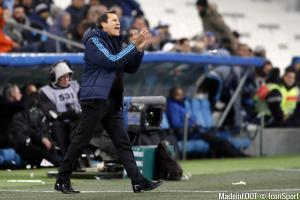 Rudi Garcia, l'entraîneur de l'OM.