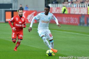 Les joueurs de l'OM se sont imposés face à Dijon
