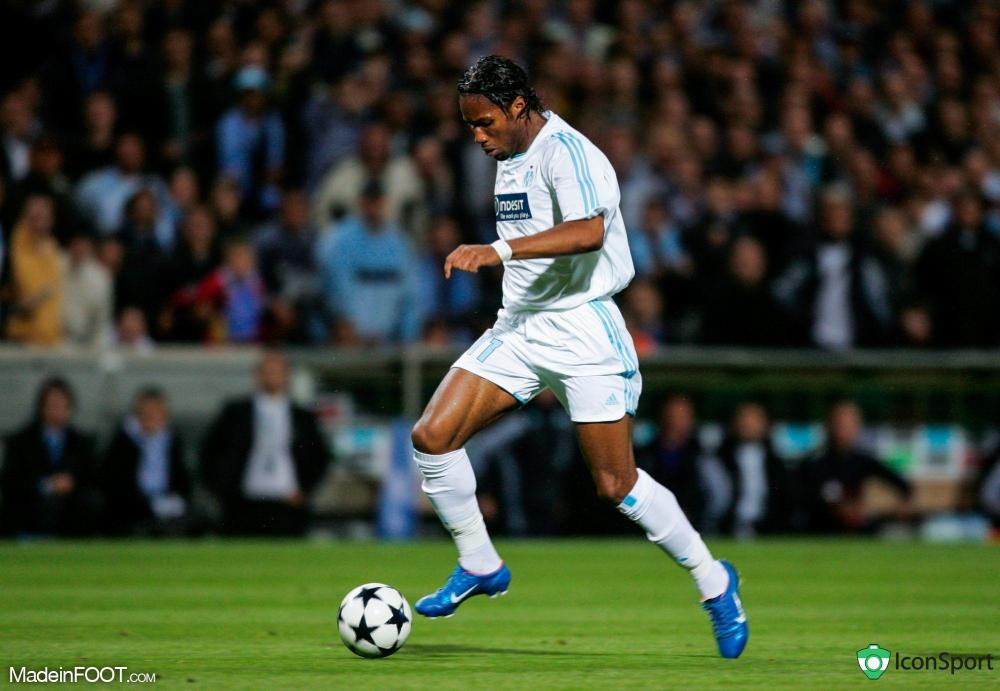 Didier Drogba, star du Match des Héros