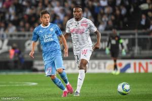 Maxime Lopez, le jeune milieu de terrain de l'Olympique de Marseille.