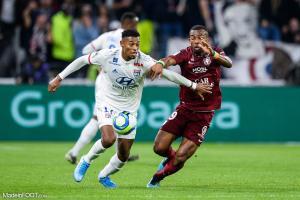 Habib Maïga, le milieu de terrain du FC Metz.