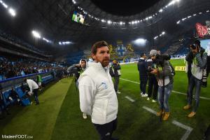 André Villas-Boas, l'entraîneur de l'Olympique de Marseille.