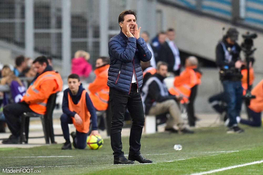 Le groupe du FC Lorient pour la réception de l'Olympique de Marseille.